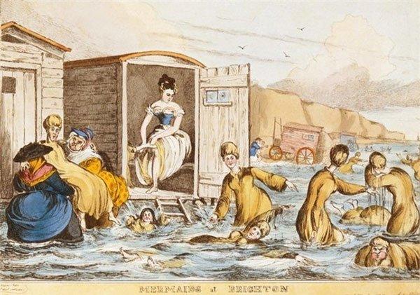 Áo choàng tắm được sử dụng để tắm công cộng