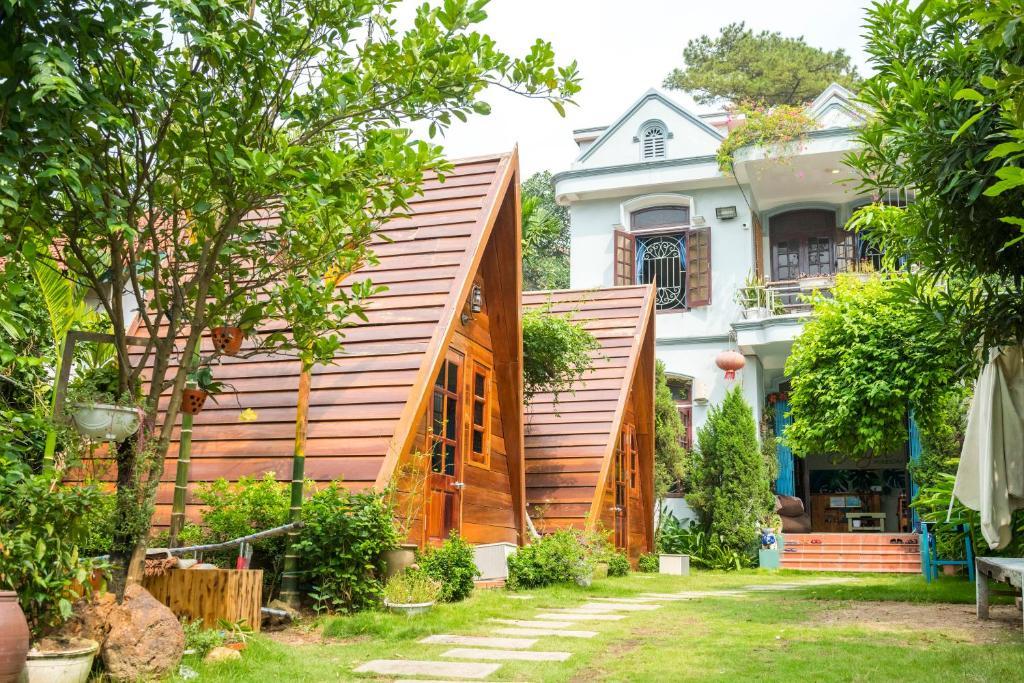 Thiết kế homestay độc đáo với khuôn viên rộng rãi