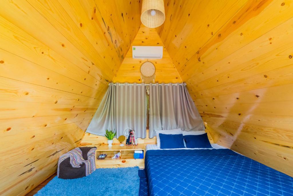 không gian bên trong của homestay