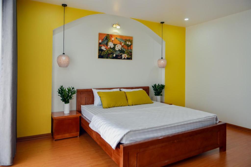 Phòng nghỉ mang gam màu hiện đại, tinh tế