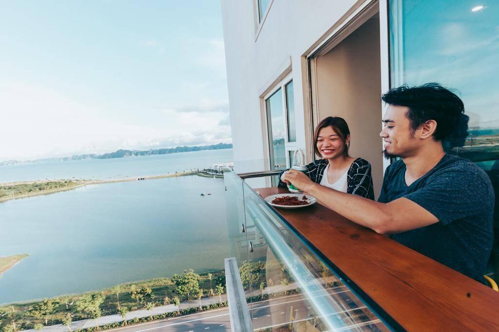 Homestay với view biển tuyệt đẹp