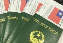 các loại visa đài loan